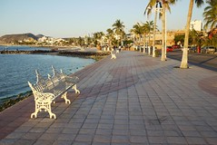 The Malecon in La Paz