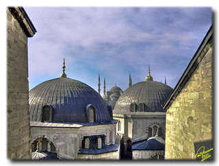 Blue Mosque ...