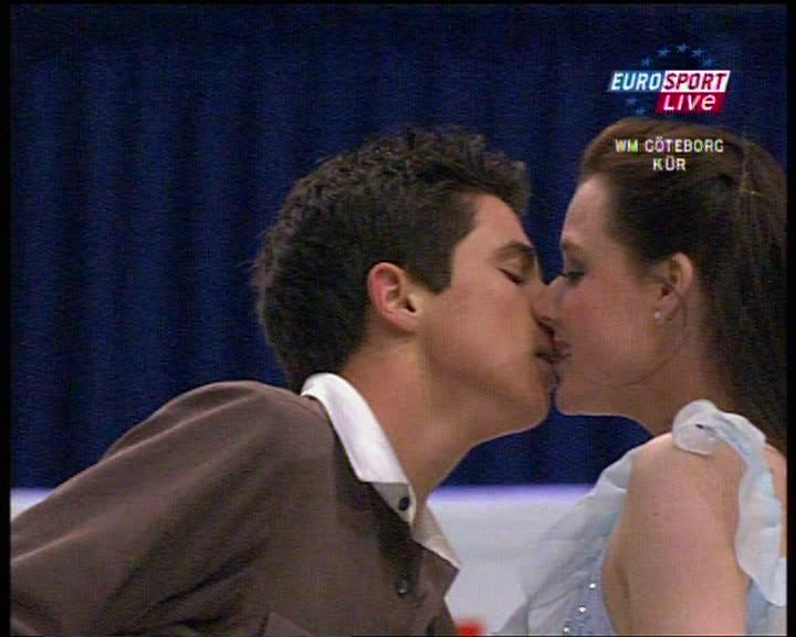 Because even in rehearsal they are sizzling Tessa Virtue Boyfriend