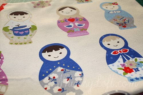 Russian dolls Fabric