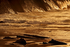 Itzurungo labarrak (jonlp) Tags: sea nature landscape gipuzkoa zumaia itsasoa itzurun paisajea euskalherriabasquecountrynatura