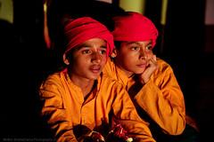 Yakshagana Makeup   Bangalore (@k@sh) Tags: color college canon children photography 350d 50mm bangalore makeup canvas national f18 active udupi mela mangalore akash jayanagar saligrama makkala yakhagana