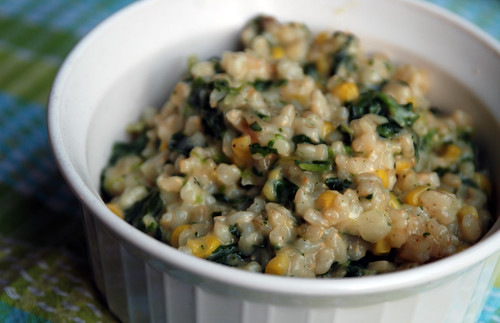 Spinach and Brown Rice