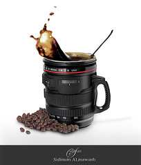 Coffee (suliman almawash) Tags: art digital photoshop kuwait suliman      almawash