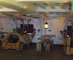 HMS Victory in anaglyph 3D red blue / cyan glasses (3dstereopics) Tags: geotagged stereoscopic stereophoto stereophotography 3d fuji royal trafalgar nelson anaglyph stereo finepix portsmouth stereoview naval w1 redblue dockyard stereoscopy hmsvictory w3 anaglyphic 3dimensional redblueglasses anaglifo 3danaglyph ttw redcyan redcyanglasses real3d 3dphoto 3dpicture 3dphotograph anaglyph3d anaglyphic3d 3dstereoimage 3dstereopicture