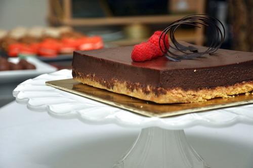 New York Chocolate Raspberry Cheese Cake 4