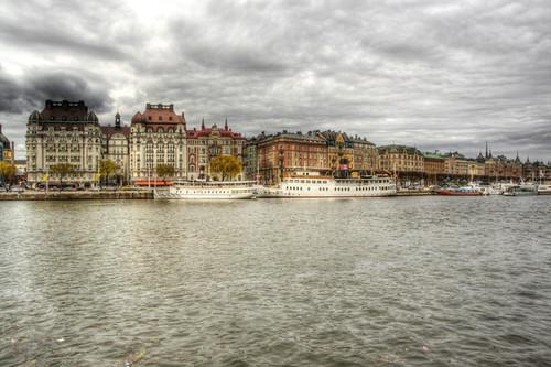 Stockholm. Strandvägen. Estocolmo