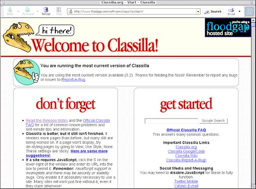 Classilla 9.2