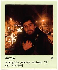 ppp096 - dario (opethpainter) Tags: portrait people italy milan polaroid december milano 4th 2009 naviglio dario pavese