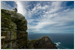 South Africa - Cape Point - Old lighthouse (Mathieu Soete) Tags: ocean africa sea sky lighthouse clouds southafrica rocks indianocean capepoint atlanticocean capeofgoodhope capepeninsula sigma1020mm suidafrika oldlighthouse thefairestcape andromeda50