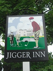 Jigger Inn Pub Sign St Andrews Scotland (Bridgemarker Tim) Tags: beer st golf scotland andrews pubs inns