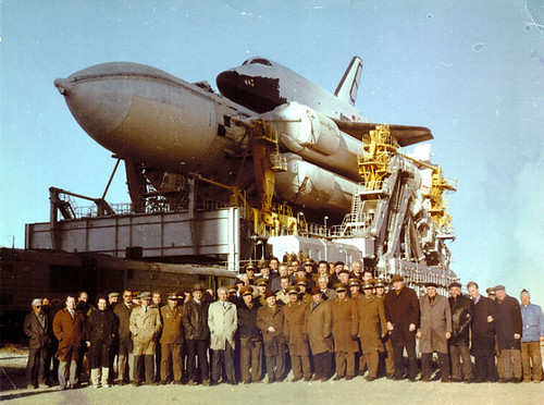 N-1 Moon Rocket and Energia-Buran