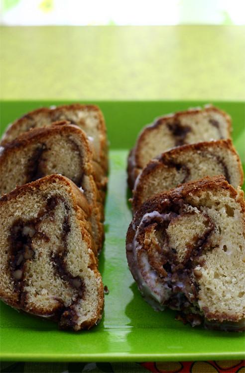 Mom's B-Day Homemade Coffee Cake