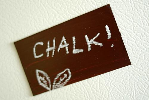 Chalkboard Magnet!