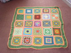 Time to play the 'SIBOL' Board Game Ladies ! Please 'add note to your Square! 'Orange Grove' - (Sun themed Blanket No. 4 SIBOL 12) - Named by Jenfur43! Thank you!