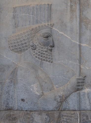 Bas Relief at Persepolis
