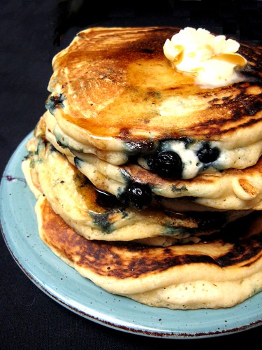 Blueberry-Flax Buttermilk Pancakes Recipes — Dishmaps