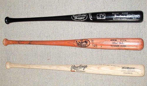 Game Used Baseball Bats $90