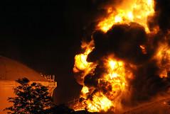 NC Fire (prophoto2008) Tags: usa fire nc colonial northcarolina greensboro blaze pipeline firedepartment firefighters i40 breakingnews interstate40 spotnews storagefacility guilfordcounty gasolinetankerfire colonialpipelinecompany