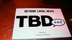 Rethink local news #dcweek tbd.com Blog and br...