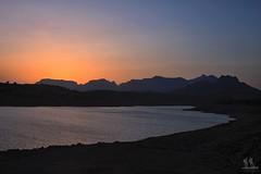 Sunset @ Bhandardara (Pankaj  Unlimited (pankajz.com)) Tags: sunset lake colors evening dam bhandardara  pankajunlimited