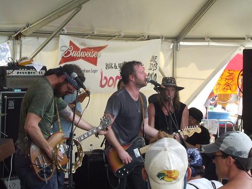 Truth & Salvage Co. at Bonnaroo 2010
