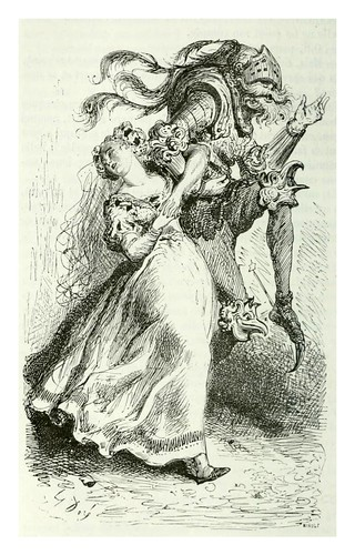 006-La amiga del rey-Les contes drolatiques…1881- Honoré de Balzac-Ilustraciones Doré