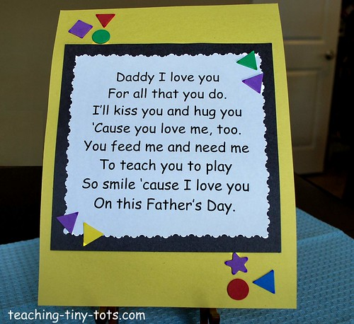 fathers day poems. Fathers Day Poems