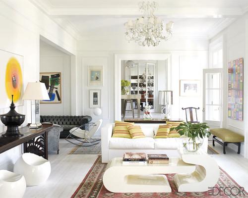 White Furniture Decorating Ideas: BLOG POST -- ERIN WILLIAMSON