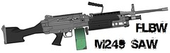 M249 SAW (FlyingLazerBeamWalrus) Tags: saw m249 finished finally