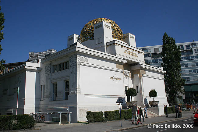 Edificio Secession. © Paco Bellido, 2006