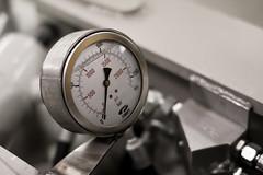 bar steel filled oil psi pressure gauge accurate highpressure hydraulic sunhydraulics fimet