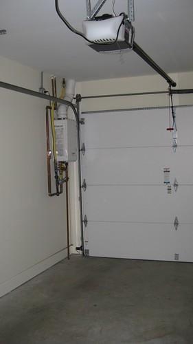 Garage water heater
