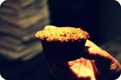 muffin close up