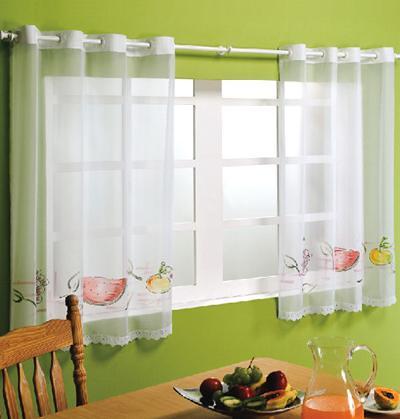 cortinas em cozinhas modelos
