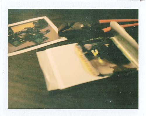 Polaroid Chem Spill