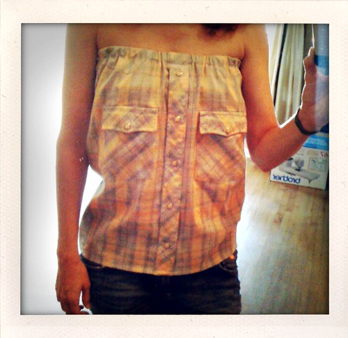 DIY: Upcycled Mens Western Button-up