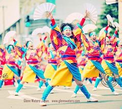 Yosakoi Dance Hirosaki Japan (Hirosaki Japan).  Glenn Waters. Over 2,000 visits to this photo. (Glenn Waters in Japan.) Tags: street carnival festival japan japanese dance nikon bokeh aomori  hirosaki japon yosakoi        nikkor85mmf14d nikkor85mm14d d700 nikond700  glennwaters nikkor85mmf14difaf photosjapan