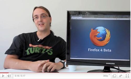 Copie d'écran de la vidéo Youtube