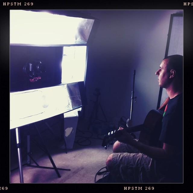 right now - shooting w/ @kbelcherguitar @kailegoh @lanbui!