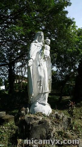 'Unruined' Mama Mary in Pindangan Ruins