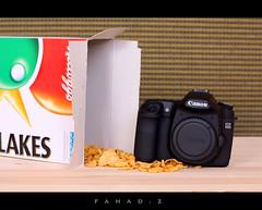 My New Toy (Fahad-Z) Tags: new canon toy 50mm corn mark ii 5d flakes 50d my  450d  fahadz
