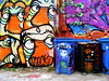 (maxwell colette) Tags: streetart chicago art graffiti grafiti tag tags mole throwups throwup amuse dubb kwt chicagostreetart spoe bserk noteef snacki thebestalleyinwickerpark