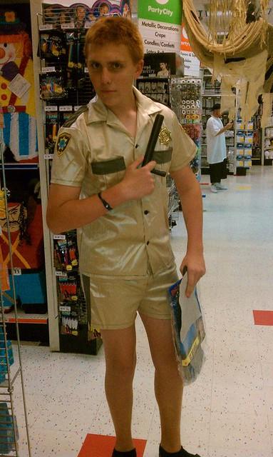Brian in costume
