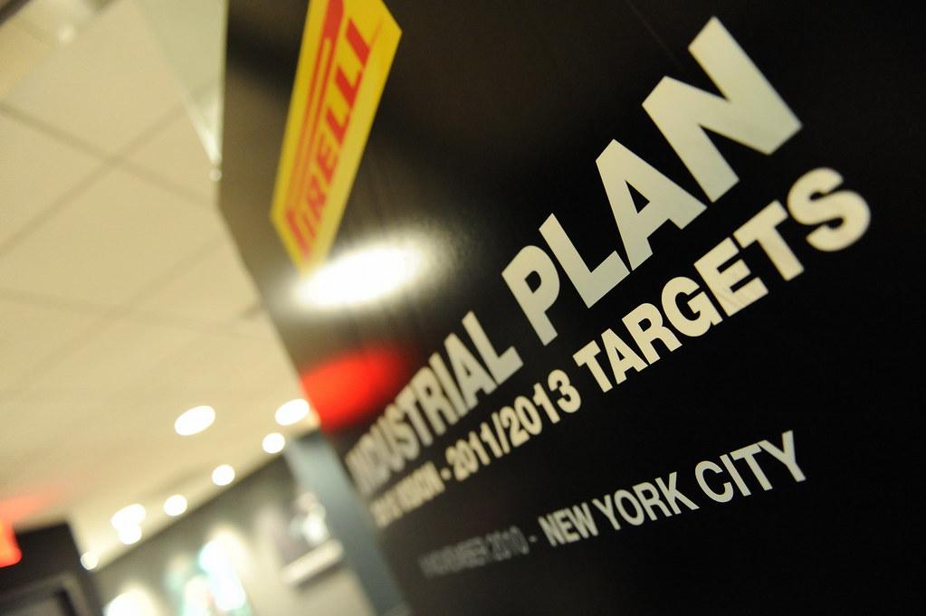 Pirelli Industrial Plan