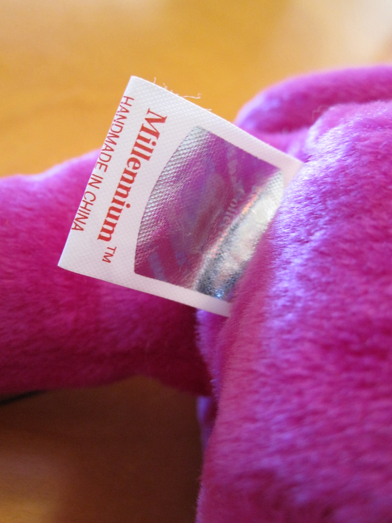 ... Ty Millennium Beanie Baby Tush Tag - Correct Spelling (jessicagreen0202)  Tags new baby really ... cbac47647aa6