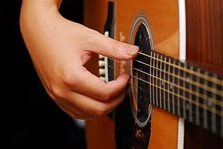 吉他右手指型