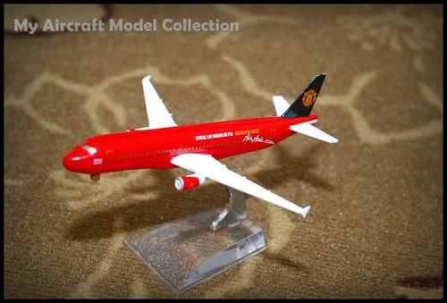 Airasia Man Utd A320