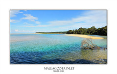 Mallacoota Inlet (sugarbellaleah) Tags: sunny outdoors holiday vacation beach inlet coast mallacoota australia water clean purity nature environment sand blue aqua enjoyment relax getaway sky travel tourism seascape landscape