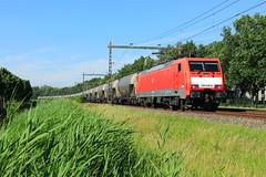 DB Cargo 189 048 @ Ittersum (Zwolle) (Sicco Dierdorp) Tags: db dbc cargo schenker br189 aluminiumoxide botlek zwolle ittersum omleiding deventer wijhe